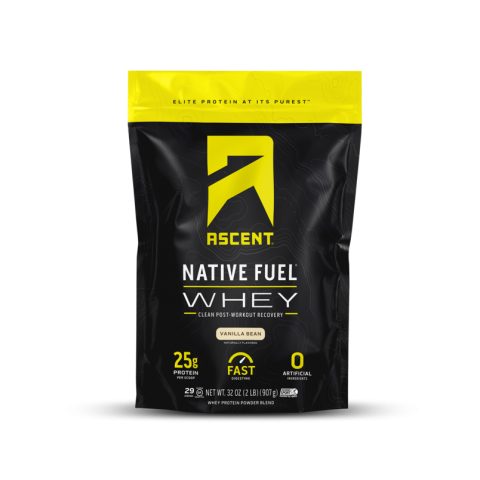 Ascent Native Fuel Whey Protein Powder Blend