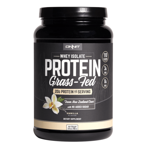 Onnit - Grass-Fed Whey Isolate Protein - 1