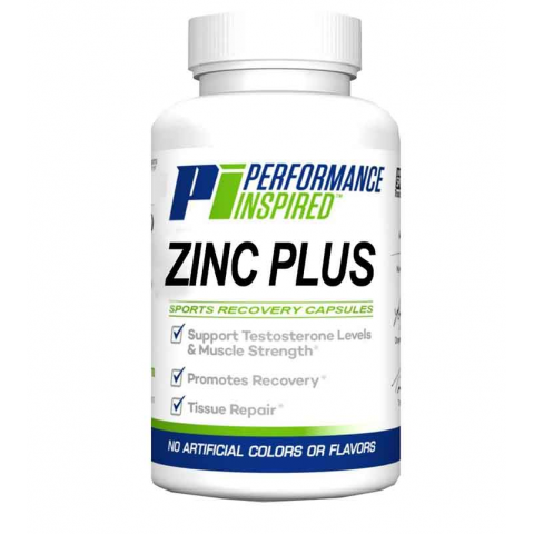 Performance Inspired - Performance Inspired Zinc Plus Sport Recovery Capsules - 1