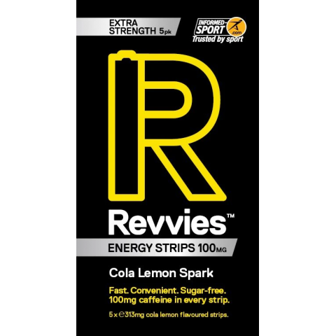 Revvies Energy Strips - Revvies Energy Strips 100mg