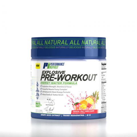 Performance Inspired Explosive Pre-Workout